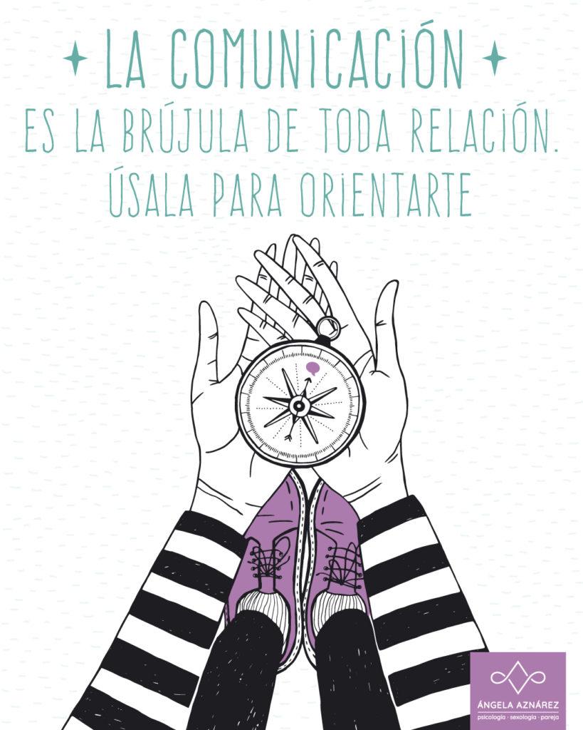 La comunicación es la brújula de toda relación